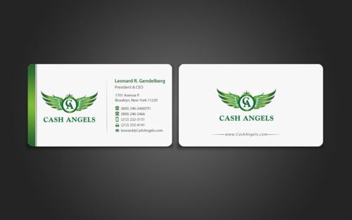 Cash Angels Business Cards and Stationery  Draft # 498 by einsanimation