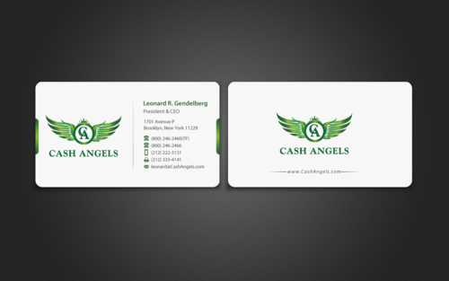 Cash Angels Business Cards and Stationery  Draft # 499 by einsanimation