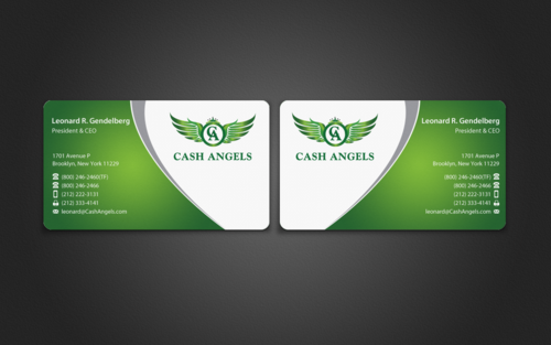 Cash Angels Business Cards and Stationery  Draft # 501 by einsanimation