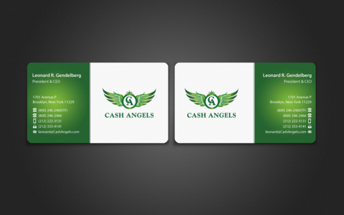 Cash Angels Business Cards and Stationery  Draft # 503 by einsanimation