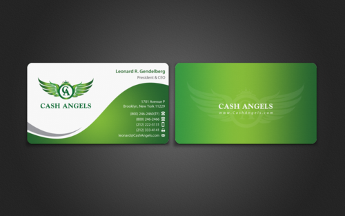 Cash Angels Business Cards and Stationery  Draft # 506 by einsanimation