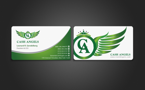 Cash Angels Business Cards and Stationery  Draft # 509 by einsanimation