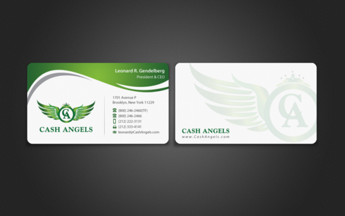 Cash Angels Business Cards and Stationery  Draft # 513 by einsanimation