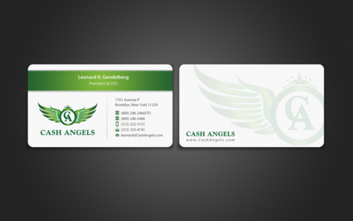 Cash Angels Business Cards and Stationery  Draft # 512 by einsanimation