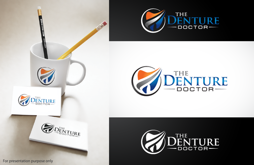 The Denture Doctor A Logo, Monogram, or Icon  Draft # 274 by Stardesigns