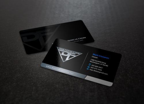 Business card and stationary