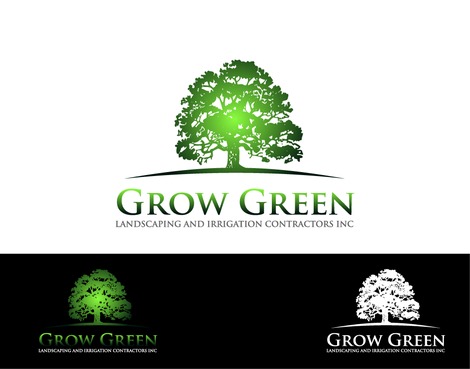Grow Green Landscaping and Irrigation Contractors Inc A Logo, Monogram, or Icon  Draft # 38 by vinet