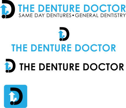 The Denture Doctor A Logo, Monogram, or Icon  Draft # 301 by FiddlinNita