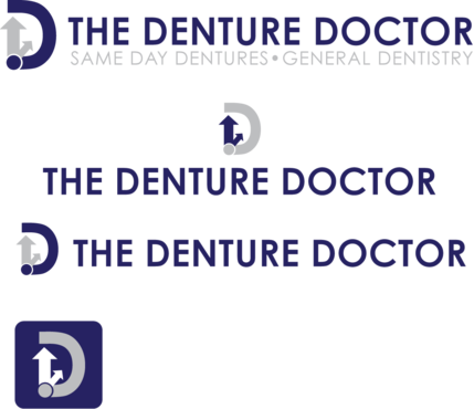 The Denture Doctor A Logo, Monogram, or Icon  Draft # 304 by FiddlinNita