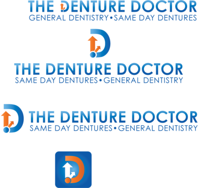 The Denture Doctor A Logo, Monogram, or Icon  Draft # 318 by FiddlinNita
