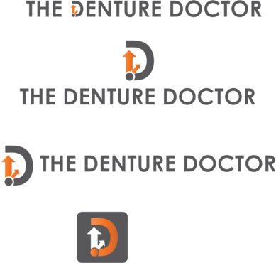 The Denture Doctor A Logo, Monogram, or Icon  Draft # 320 by FiddlinNita