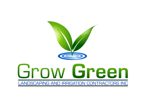 Grow Green Landscaping and Irrigation Contractors Inc A Logo, Monogram, or Icon  Draft # 40 by bhanu