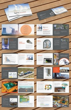 NSTS Products and Services Marketing Brochure Design