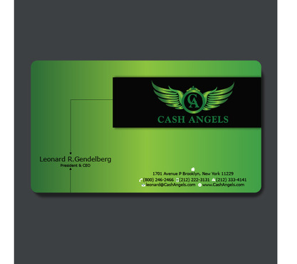 Cash Angels Business Cards and Stationery  Draft # 608 by creativeoutline