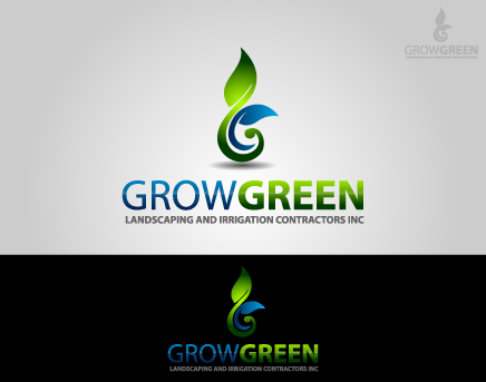 Grow Green Landscaping and Irrigation Contractors Inc A Logo, Monogram, or Icon  Draft # 45 by lovely