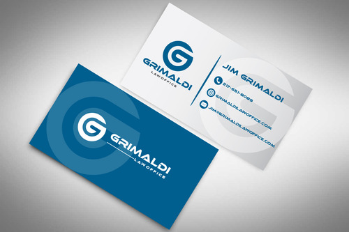 Grimaldi Law Office Business Cards and Stationery  Draft # 119 by rasix
