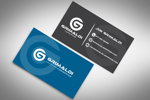 Grimaldi Law Office Business Cards and Stationery  Draft # 120 by rasix