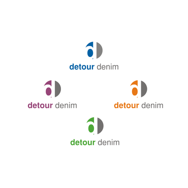 Detour Denim A Logo, Monogram, or Icon  Draft # 356 by IsbieDesign