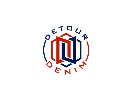 Detour Denim A Logo, Monogram, or Icon  Draft # 379 by falconisty