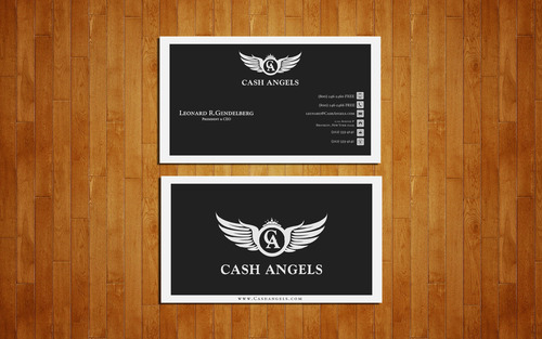 Cash Angels Business Cards and Stationery  Draft # 611 by GeniusMinD