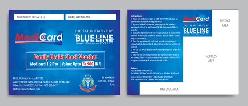 Voucher Design Marketing collateral  Draft # 2 by Achiver