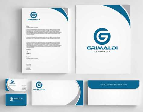Grimaldi Law Office Business Cards and Stationery  Draft # 246 by Dawson