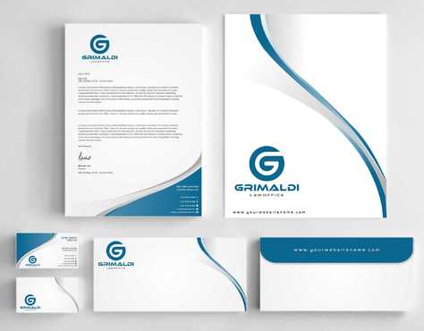 Grimaldi Law Office Business Cards and Stationery  Draft # 249 by Dawson