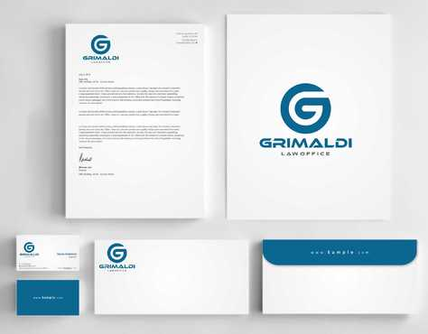 Grimaldi Law Office Business Cards and Stationery  Draft # 251 by Dawson