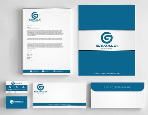Grimaldi Law Office Business Cards and Stationery  Draft # 256 by Dawson