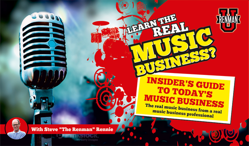 The Best Music Business Course on the Web