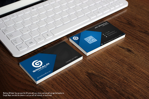 Grimaldi Law Office Business Cards and Stationery  Draft # 259 by Abart