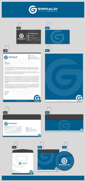 Grimaldi Law Office Business Cards and Stationery  Draft # 260 by rasix