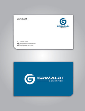 Grimaldi Law Office Business Cards and Stationery  Draft # 262 by creativeoutline