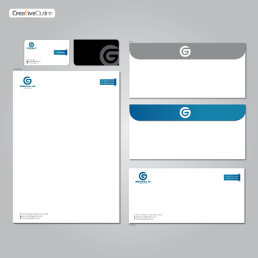 Grimaldi Law Office Business Cards and Stationery  Draft # 264 by creativeoutline