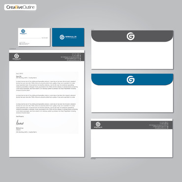 Grimaldi Law Office Business Cards and Stationery  Draft # 267 by creativeoutline