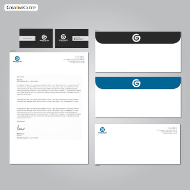 Grimaldi Law Office Business Cards and Stationery  Draft # 269 by creativeoutline