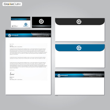 Grimaldi Law Office Business Cards and Stationery  Draft # 270 by creativeoutline