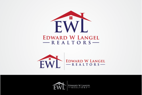 Edward W Langel Realtors A Logo, Monogram, or Icon  Draft # 373 by Densgraphics