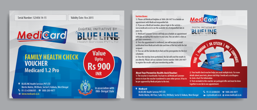 Voucher Design Marketing collateral Winning Design by Achiver