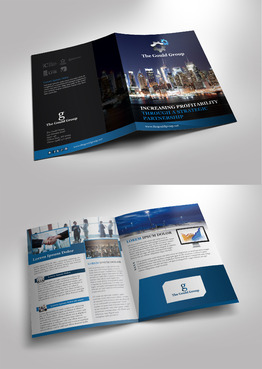 Gould Group Marketing collateral Winning Design by Achiver