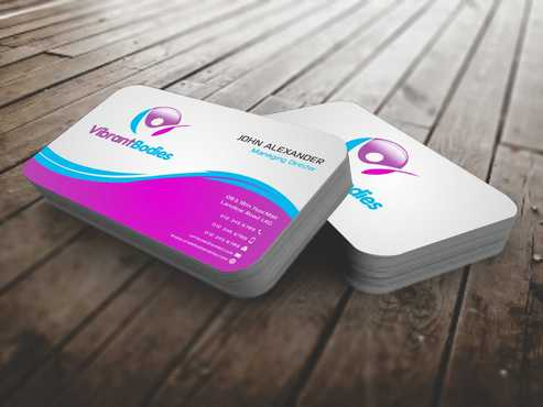 Vibrant Bodies Business Cards and Stationery  Draft # 182 by Dawson