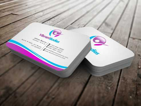 Vibrant Bodies Business Cards and Stationery  Draft # 184 by Dawson