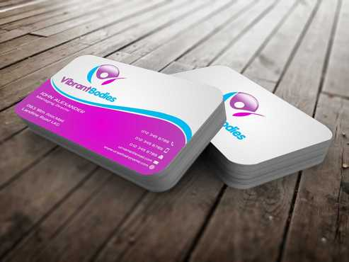 Vibrant Bodies Business Cards and Stationery  Draft # 192 by Dawson