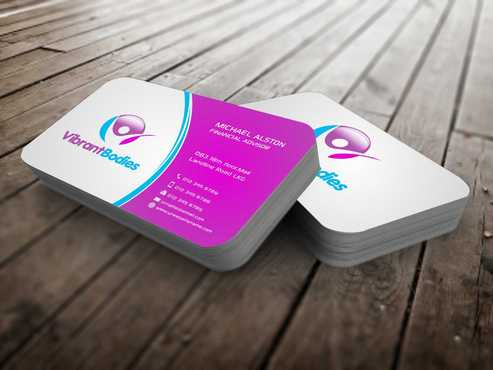Vibrant Bodies Business Cards and Stationery  Draft # 194 by Dawson