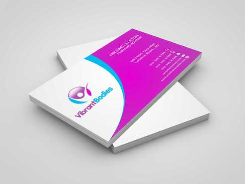 Vibrant Bodies Business Cards and Stationery  Draft # 195 by Dawson