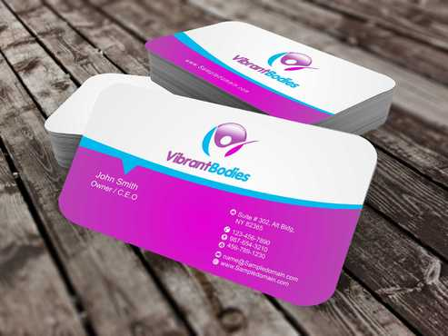 Vibrant Bodies Business Cards and Stationery  Draft # 200 by Dawson