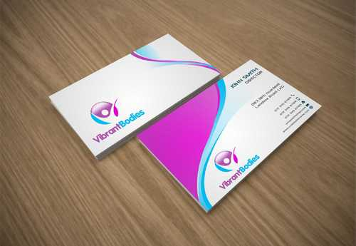Vibrant Bodies Business Cards and Stationery Winning Design by Dawson