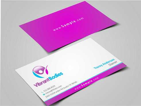 Vibrant Bodies Business Cards and Stationery  Draft # 210 by Dawson