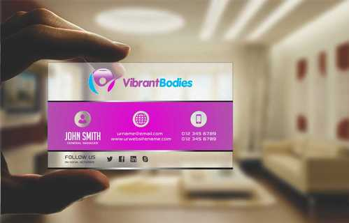 Vibrant Bodies Business Cards and Stationery  Draft # 214 by Dawson