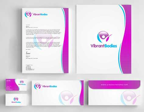 Vibrant Bodies Business Cards and Stationery  Draft # 236 by Dawson